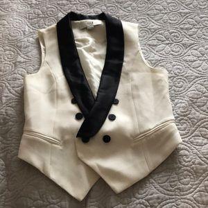Tuxedo Satin Vest